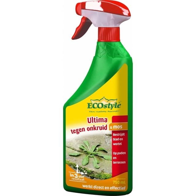Ultima Onkruid & Mos Gebruiksklaar 750 ml - Ecostyle