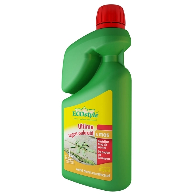 Ultima Onkruid & Mos Concentraat 510 ml - Ecostyle
