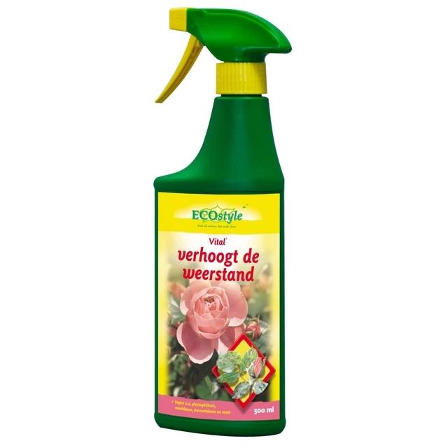 Vital Planten-Versterkingsmiddel - Gebruiksklaar 500 ml - Ecostyle