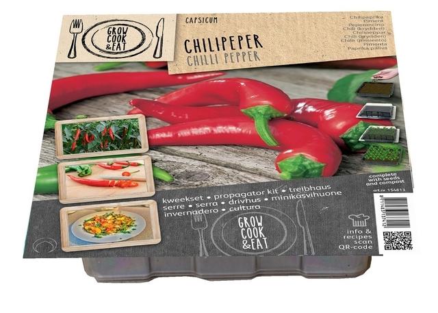 Zaaisetje Chilli Peper