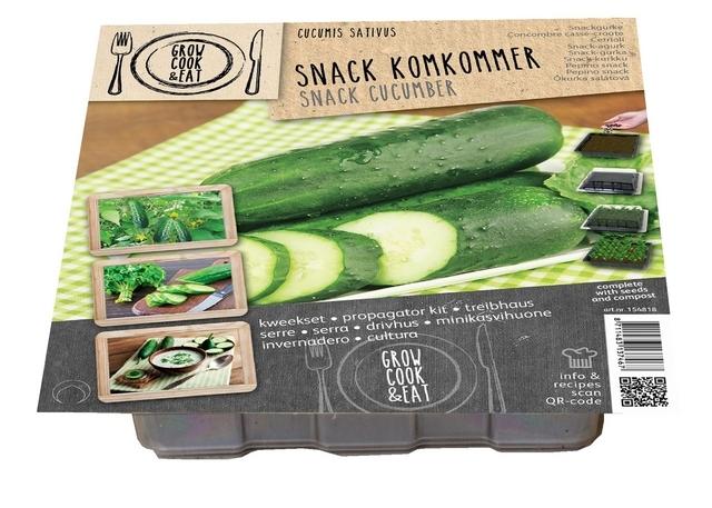Zaaisetje Snack Komkommer