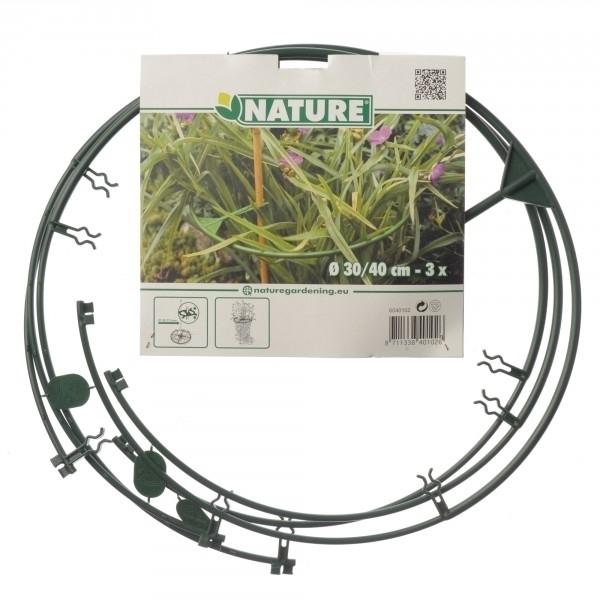 Plantensteunen Vario verstelbaar 30-40 cm. - Nature