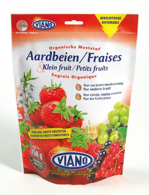 Organische aardbeienmeststof 750 gr - Viano
