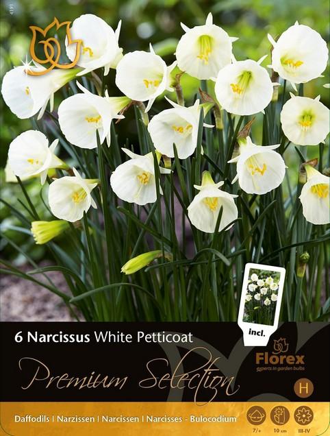 Narcis White Petticoat