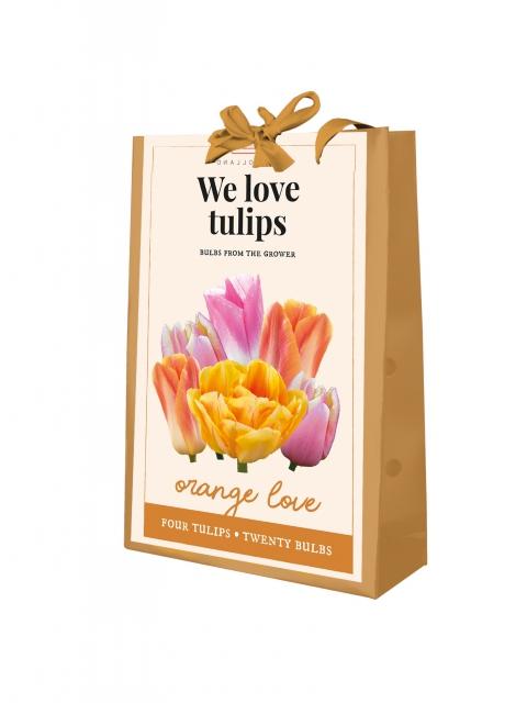 We Love Tulips - Orange Love