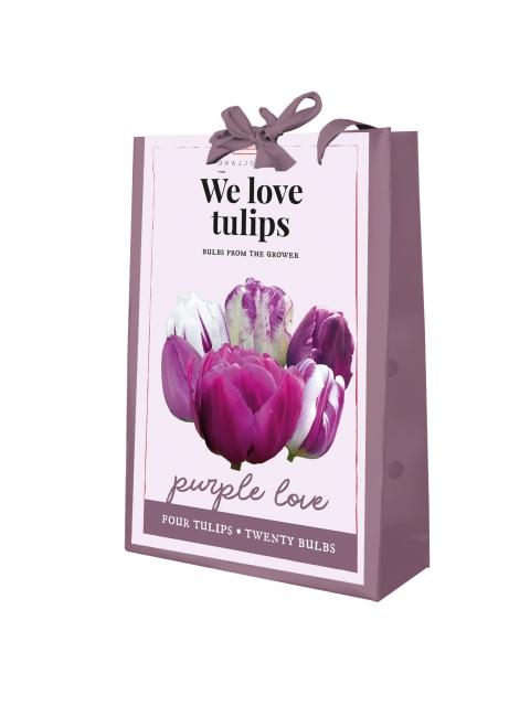 We Love Tulips - Purple Love