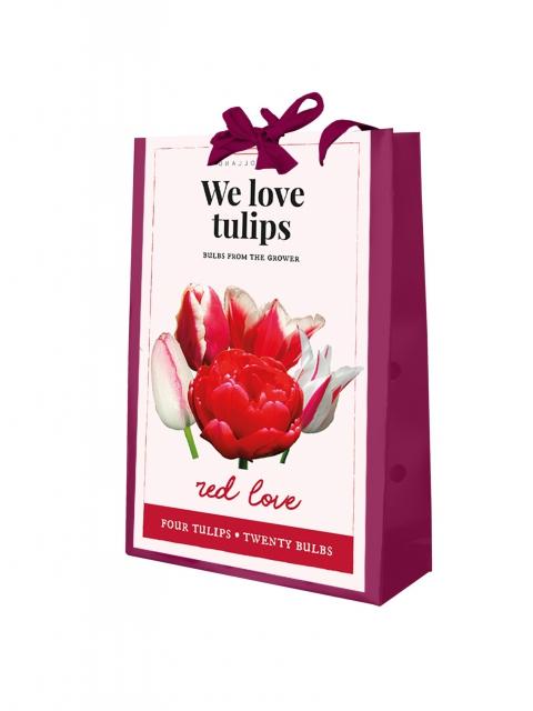 We Love Tulips - Red Love