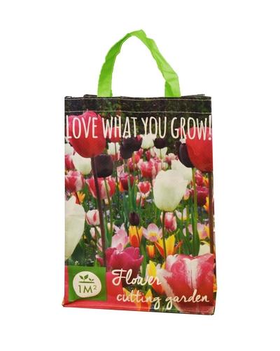 Boodschappentas met Tulpen Mix