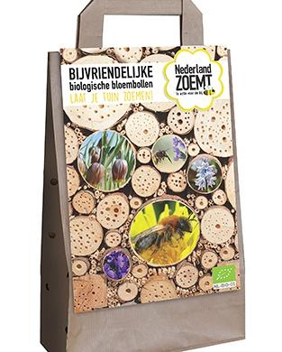 Bloembollentas Nederland Zoemt - Biologische Bloembollen