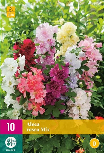 Alcea Rosea Mix - Stokroos
